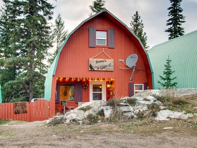 Photo for Natures A Lure a Newly Refurbished A Frame Cottage at Idabel Lake Resort