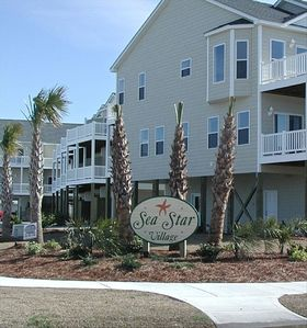 Easy access to main entrance to complex from hwy. 210-2.5 miles from new SC brdg