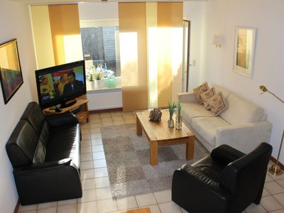 Photo for Sylt. Quiet holiday house with 3 bedrooms, 2 bathrooms, patio, lawn, Internet