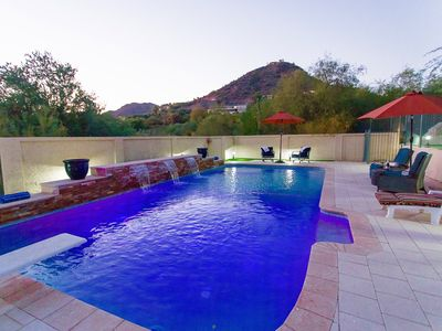 Photo for WINTER OPEN 5*  PRIVATE 1 ACRE CAMELBACK VIEW ESTATE PARADISE VALLEY ACRE ESTATE