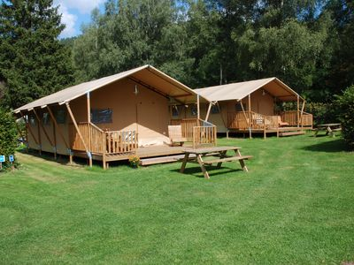 Photo for The safari tent Lodge Serengeti offers the dream of Africa in Bad Liebenzell