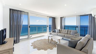 Photo for OCEAN FRONT SPECIAL  MAY AND JUNE RATES ,DELUXE 2 BDR BEACH & OCEANFRONT VIEWS