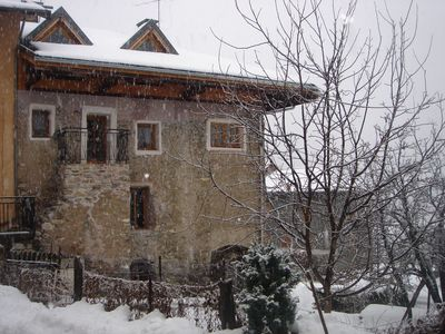 Photo for Beautifully restored chalet - ideal for 3 Valleys skiing