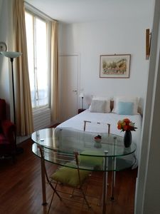 Photo for Beautiful sunny apartment 2 minutes from the metro - ideal for visiting Paris