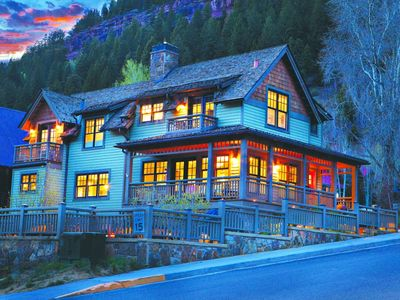 Photo for Luxury Home with stunning views in Telluride's finest neighborhood