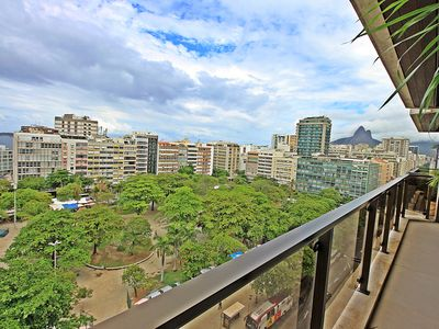 Photo for Lux! Ipanema season apartment with balcony garage pool and gym U012