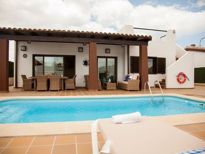 Photo for VILLA DREAMS CALETA DE FUSTE- HEATER POOL - GOLF COURSE FUERTEVENTURA