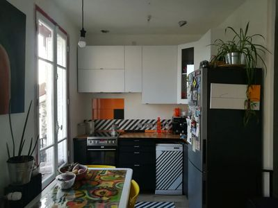 Photo for Beautiful apartment 13 min from the Gare du Nord