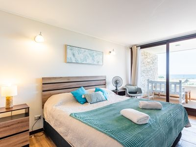 Photo for Ocean Drive- 1BR, With Wifi, Parking & Beachfront