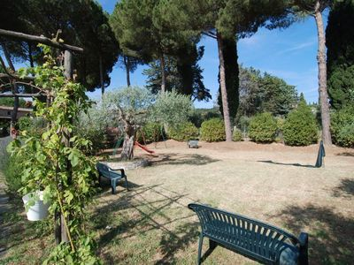 Photo for Apartment in Passignano Sul Trasimeno with Internet, Pool, Parking, Garden (127279)