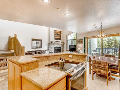 Photo for Spacious townhome, private hot tub, multiple balconies, hiking & biking trails close by