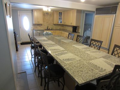 Large kitchen Seats 10