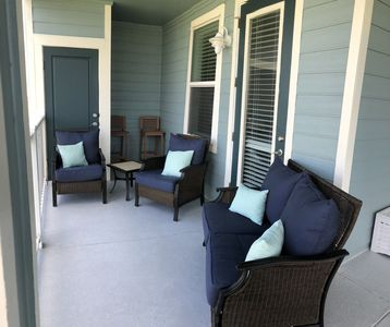 Photo for Beautiful views of Galveston Bay from this stunning unit at Pointe West