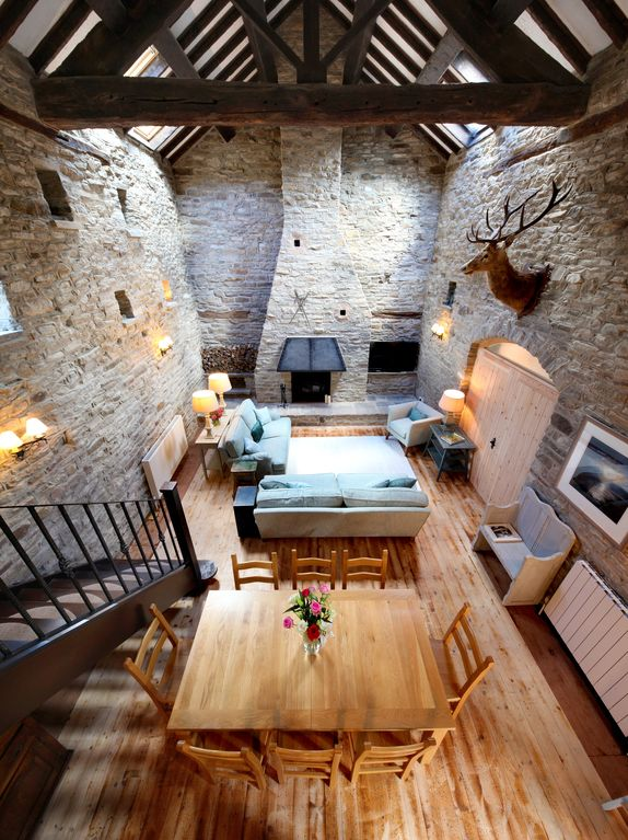 A Beautiful 17th Century Stone Barn Conversion Set Within