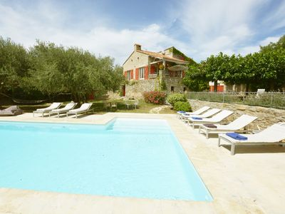 Photo for Luxury 5 Bedroom Home in Languedoc with Pool