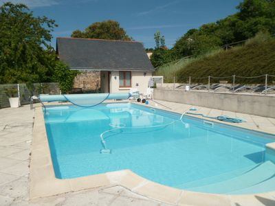 Photo for COTTAGE 2 PEOPLE IN CHINON (37500) - HEATED SWIMMING POOL