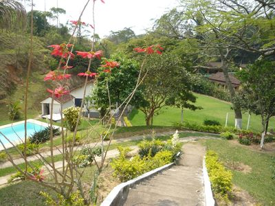 Photo for 8 bedrooms, main house and guest house, 5 bathrooms, pool, games room, barbecue
