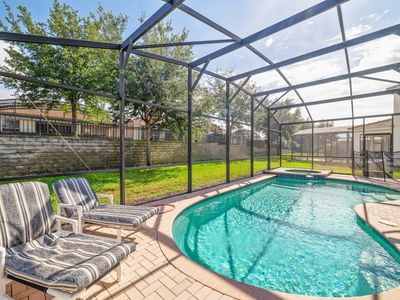 Photo for AWESOME 6BR/4BA Resort Private Pool/Spa - 2 mi to Disney - Game Room/Theme Rooms