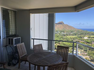 Photo for Enjoy unobstructed ocean views of Waikiki, and Diamond Head from 33rd floor