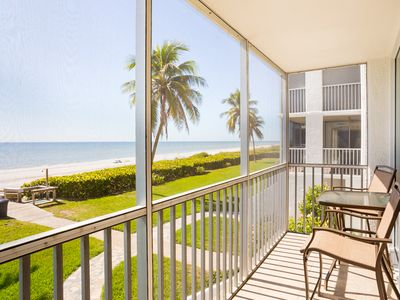 Photo for Floor to Ceiling Direct Gulf Views ! This amazing condo is a hidden gem-Book before its gone !