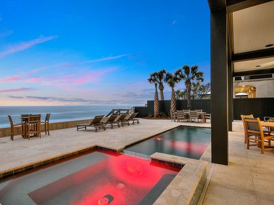 Photo for Designer Gulf Front Home with Private Pool next to Seaside