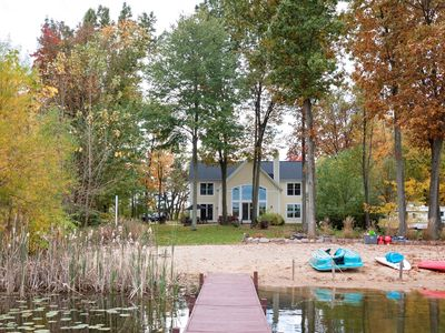 Photo for Keeler Lakehouse ~ Pure Michigan ~ Includes Kayaks And A Paddle Board