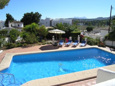 Photo for 350 METRES TO MORAIRA, ENJOY A MEAL IN TOWN WITHOUT HAVING TO DRIVE YOUR CAR!!!