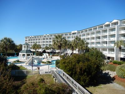 Photo for Newly Renovated!!! Oceanview, Large Pool & Lazy River