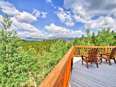 Photo for NEW! Cozy Fairplay Cabin w/Unobstructed Mtn Views!