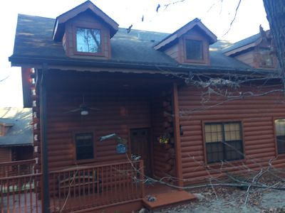 Photo for Beautifully Decorated 2 Bed / 2 Bath Cabin w/ Loft & Fireplace in Branson MO.