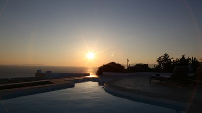 Photo for Serviced Central Luxury Villa | Unique Sunset View | Near the Town