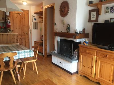 Photo for Two-room flat 4 beds complete with everything close to the ski facilities