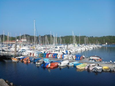 Photo for Gîte de la Mer on the marina of Lézadrieux in Brittany ...
