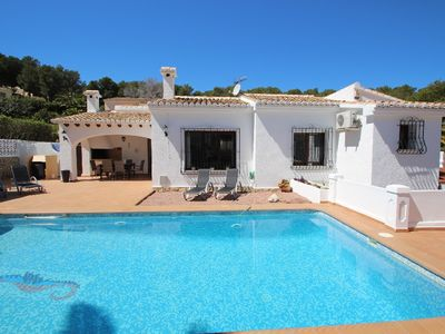 Photo for Aire - holiday home with private swimming pool in Moraira