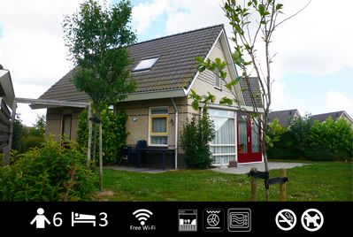 "Our holiday house ""den Breeck"" with free wifi and fence along boarder"