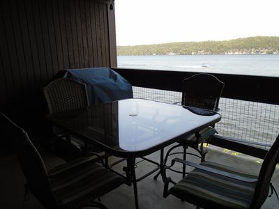 Main Channel View from Private Deck & Propane Grill!