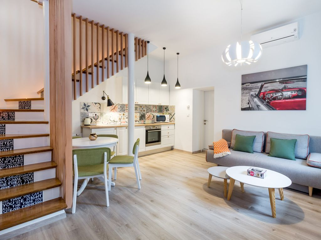 Courtyard house in Ilica: BY\'s home: in the heart of Zagreb; two ...