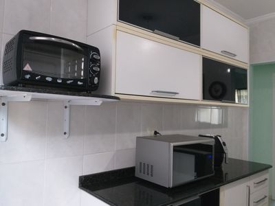 Photo for Holiday Apartment / flat in Guarujá Praia das Asturias / Tombo
