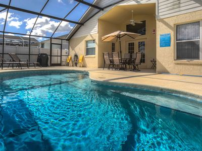 Photo for 5 Minutes From Disney Parks!  Private Pool.