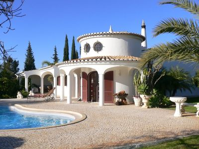 Photo for Luxury villa with sea view & pool in 5000 m2 sub-tropic garden