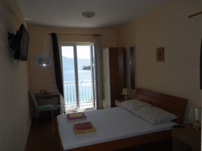 Photo for Studio just 50m from the beach with the sea view