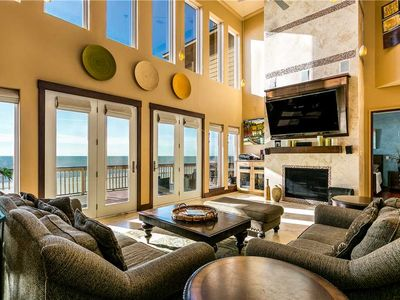 Photo for Paradise at Last - 7 BR, 4.5 BA Sleeps 18- Beachfront Home in Sands of Kahala