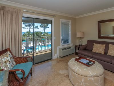 Photo for Ocean Dunes Villas 415 - 1 Bedroom 1 Bathroom Oceanfront Flat
