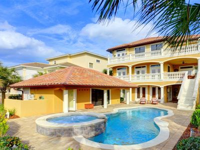 Tuscany By The Sea has private heated spa, heated pool & cabana - Tuscany By The Sea has private heated spa, heated pool & cabana. Our home has sweeping views of the golf course and Ocean Hammock Resort. Plan now for the perfect vacation in Palm Coast, Florida.