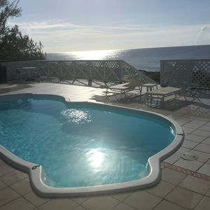 Photo for 1000 FEET of Oceanfront Home w/ Pool -Famous Snorkel/Dive Site/free WIFI & Phone
