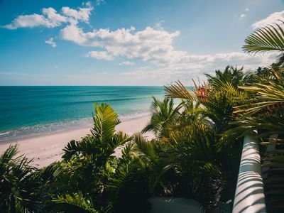 Photo for TROPICAL BEACHFRONT SUITE WITH MAGNIFICENT VIEW