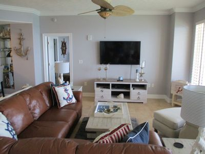 Photo for GC 2 BDRM - 2 KING BEDS; Gulfront 40 Foot balcony! Newly Renovated