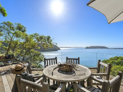 Photo for Cape Mackerel Cabin with Magic Palm Beach and Pittwater Views