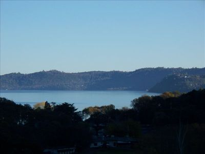 View of Clearlake from rear deck