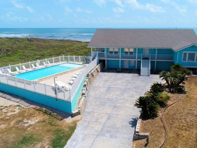 Photo for Spectacular Beach front home! Amazing endless views! Sleeps 22. Private Pool!
